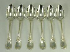 Christofle modèle Trianon, 6 cuillères de table, métal argenté. Lot 2/2.