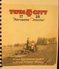 1928  Twin City 17 - 28 Tractor  Sales Information Manual  Fully Illustrated