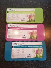 Bloom Kneeling Pad - Pack of 3. Blue, Green, and Purple