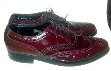 Vtg Florsheim Imperial Shell Cordovan Wingtip Shoes! 93327 Sz 10 D! Euc!