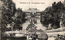Frankfurt am Main, Zoologischer Garten, 1908