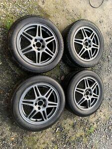 Speedline wheels 5x100 16 Inch Subaru Impreza Legacy Wrx Sti