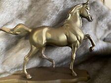 Antique Brass? Metal Horse Arabian Ornament Figurine Statue Animal Casting Rare