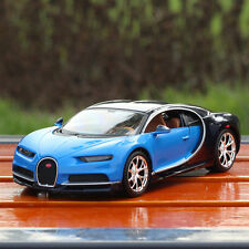 Maisto Bugatti Chiron Miniature 1:24 Diecast Car Sports Vehicles Blue Gift Toy