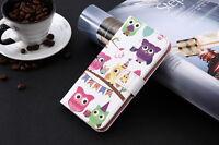 Coque flip livre cuir synthétique imprimé porte-monnaie Samsung Galaxy S8 Plus,