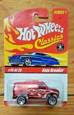 Hot Wheels Classics Baja Breaker Series 1 No 15 Red Genuine 4x4 4wd