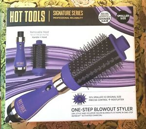 ✂️Hot Tools Signature Series Hair Salon One Step Curls Blowout Purple Black