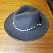 "Golden Gate Hat Co. Men's Broen ""Coyote"" Hat, 100% Wool, Small, Los Angeles USA"