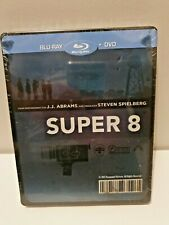 SUPER 8 Blu-Ray + DVD Limited Edition Exclusive Sold-Out Steelbook New & Sealed+