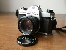 Asahi Pentax Spotmatic F MINT + SMC Takumar 55mm 1.8 MINT + MR-9 Battery Adapter