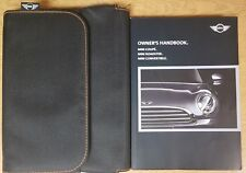 MINI COUPE / ROADSTER / CONVERTIBLE 2011-2015 HANDBOOK OWNERS MANUAL REF E-630