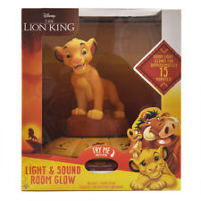 Disney LION KING Light & Sound ROOM GLOW Night Light Limited Collectors Edition