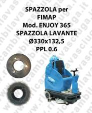 CEPILLO DE LAVADO  para fregadora FIMAP modelo ENJOY 365 mm 330 x 132.5 PPL 0.6