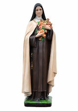 Saint Therese of Lisieux resin statue cm. 40