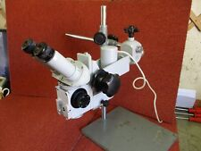 Zeiss Opmi 1 bench stereomicroscope.
