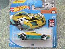 Hot Wheels 2018 # 052/365 MRII Amarillo sobre verde HW DEPORTE