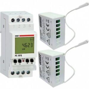 Kit centralina PC RF8 e due attuatori Set PC RF8 VEMER VE737300