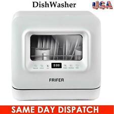 Portable Countertop Dishwasher, 5 Washing Programs, Built-in 5-Liter Water Tank