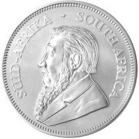 Silver Krugerrand Southafrica 2021   Silbermünze 1 oz 9999 Ag   BU