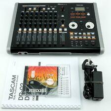 TASCAM DP-02 Digital Portastudio | 8 Track Multitrack Recorder Cd Burner
