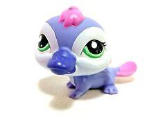 "Littlest Pet Shop #2528 Platypus Violet Purple w/ Green Eyes 2"" Figure Loose EUC"