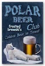 ART PRINT Polar Beer Club Coldest Beer in Town