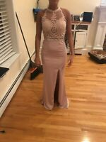 Pale Rose color Prom Dress - For a Size 2-4