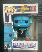 Funko Pop! Movies: Space Jam- M3 [Blue Monstar] #417 Funko Pop Vinyl Figure