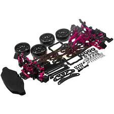 1/10 Alloy & Carbon SAKURA D4 RWD Drift Racing Car Frame Body Kit #KIT-D4RWD