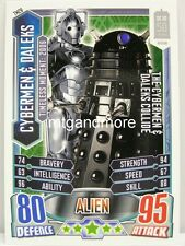 #tm26 Cybermen & Dalek-alieno ATTAX Doctor Who - 50th anni