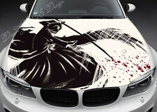 Manga Hood Full Color Graphics Adhesive Vinyl Sticker Wrap Decal Fit any Car 063