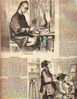 1859 Ballou's Chinese Doctor and Hair Dresser
