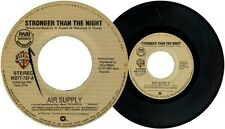 Philippines AIR SUPPLY Stronger Than The Night 45 rpm Record