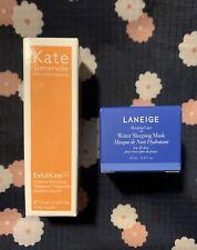 Kate Sommerville Exfolikate Exfoliating Treatment & Laneige Water Sleeping Mask