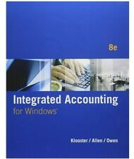 Integrated Accounting (with General Ledger CD-ROM) - Paperback - VERY GOOD