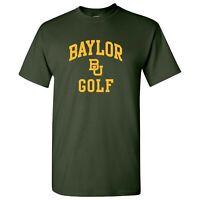 Baylor Bears Arch Logo Golf T-Shirt - Forest