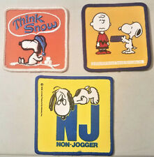 3 Snoppy / Peanuts Patch /  Applique / B