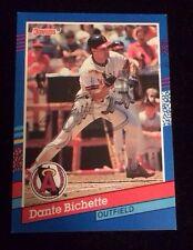 DANTE BICHETTE 1991 DONRUSS Autographed Signed AUTO Baseball Card 303 ANGELS