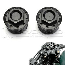 1pair CNC Anodized Fork Tube Cap Bolt For Harley Sportster 1200 883 87-16 39mm
