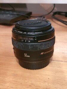 Canon EF 50mm f/1.4 USM f1.4 lens full frame
