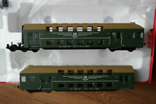 H0 HO Rivarossi DR Doppelstockwagen Doppelstockzug 1:87 HR 4128 Ep.4 IV