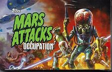 Mars Attacks Occupation Kickstarter Exclusive Factory Sealed Box of 24 Packs