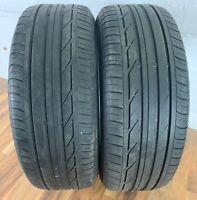 2x Bridgestone Turanza T001 225/50 R 18 95W RSC RFT Sommerreifen Reifen 5,5mm
