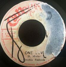 "Cynthia Richards - One Love, Jamaican 1976 7"" Cancer-Kid Recs"