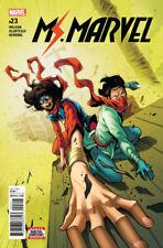 Ms. Marvel (2015) #23 VF/NM (9.0) or better Kamala Khan