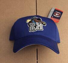 Vtg NWT Midland Rockhounds Snapback Hat Cap Rock Hounds Milb Oakland A's