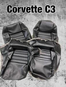 """1979-1982 Corvette Seats Cover(2"""" bolster) 4 pcs total"""