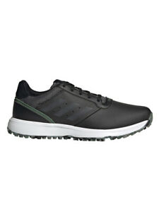 adidas S2G Spikeless Golf Shoes - Core Black/Grey Five/Green Oxide