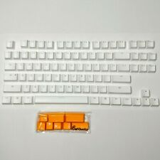Ducky white PBT keycaps, for TKL mechanical keyboard, Cherry MX, New and Genuine