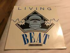 "Living Beat - Technodelia 12"" Single Record"